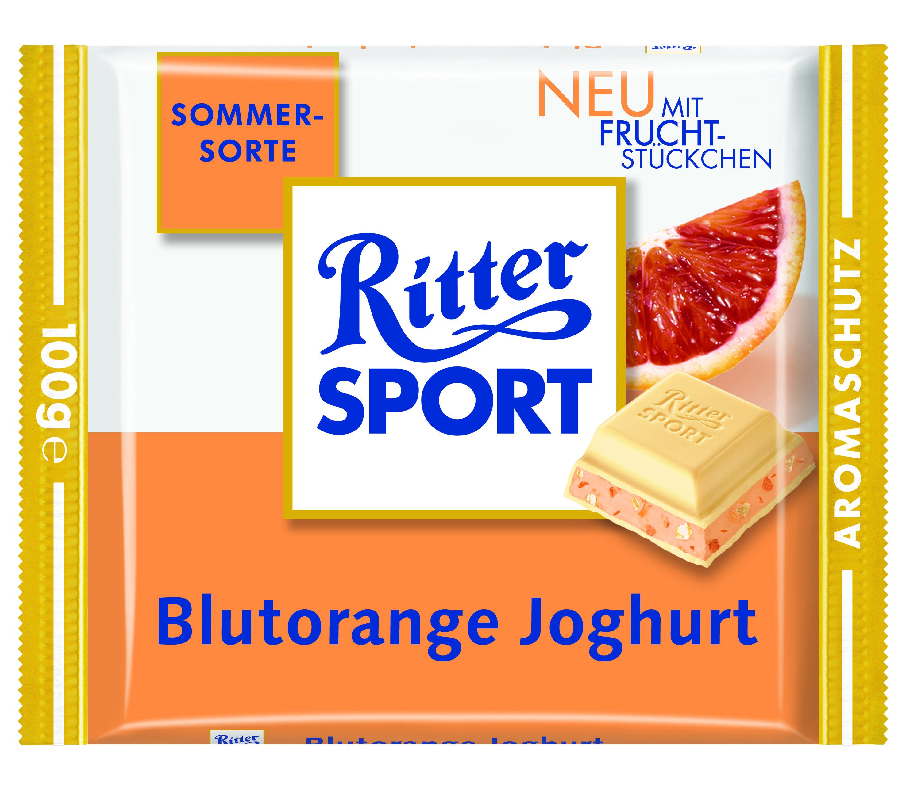RITTER SPORT Blutorange Joghurt (2007)