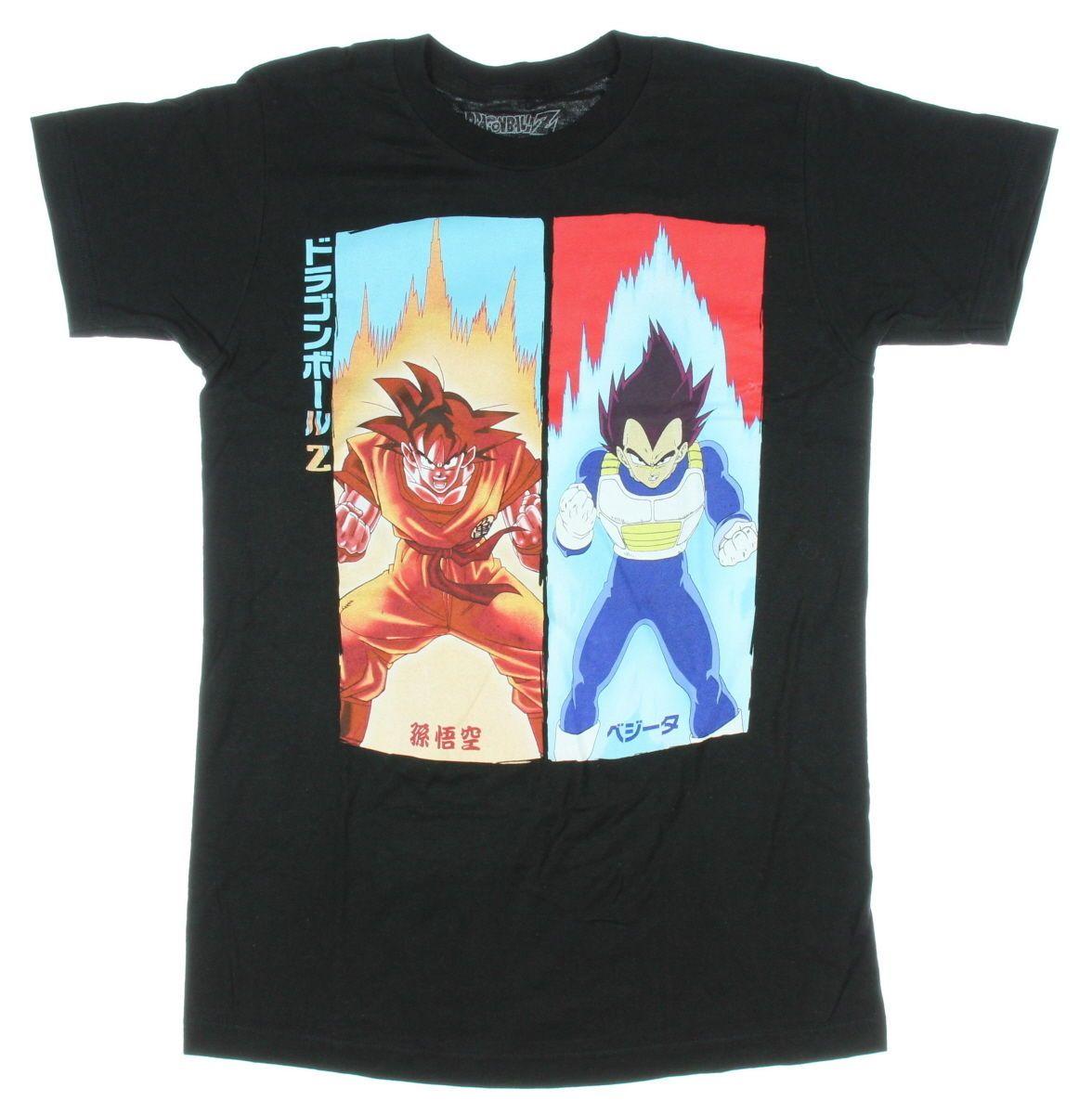 76423dfe Dragon Ball Z Goku vs Vegeta T Shirt   eBay   T-Shirts   Vegeta t ...