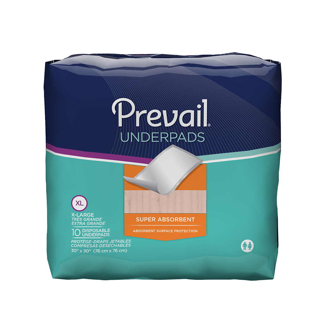 The Prevail Super Absorbent Underpad features an Integra