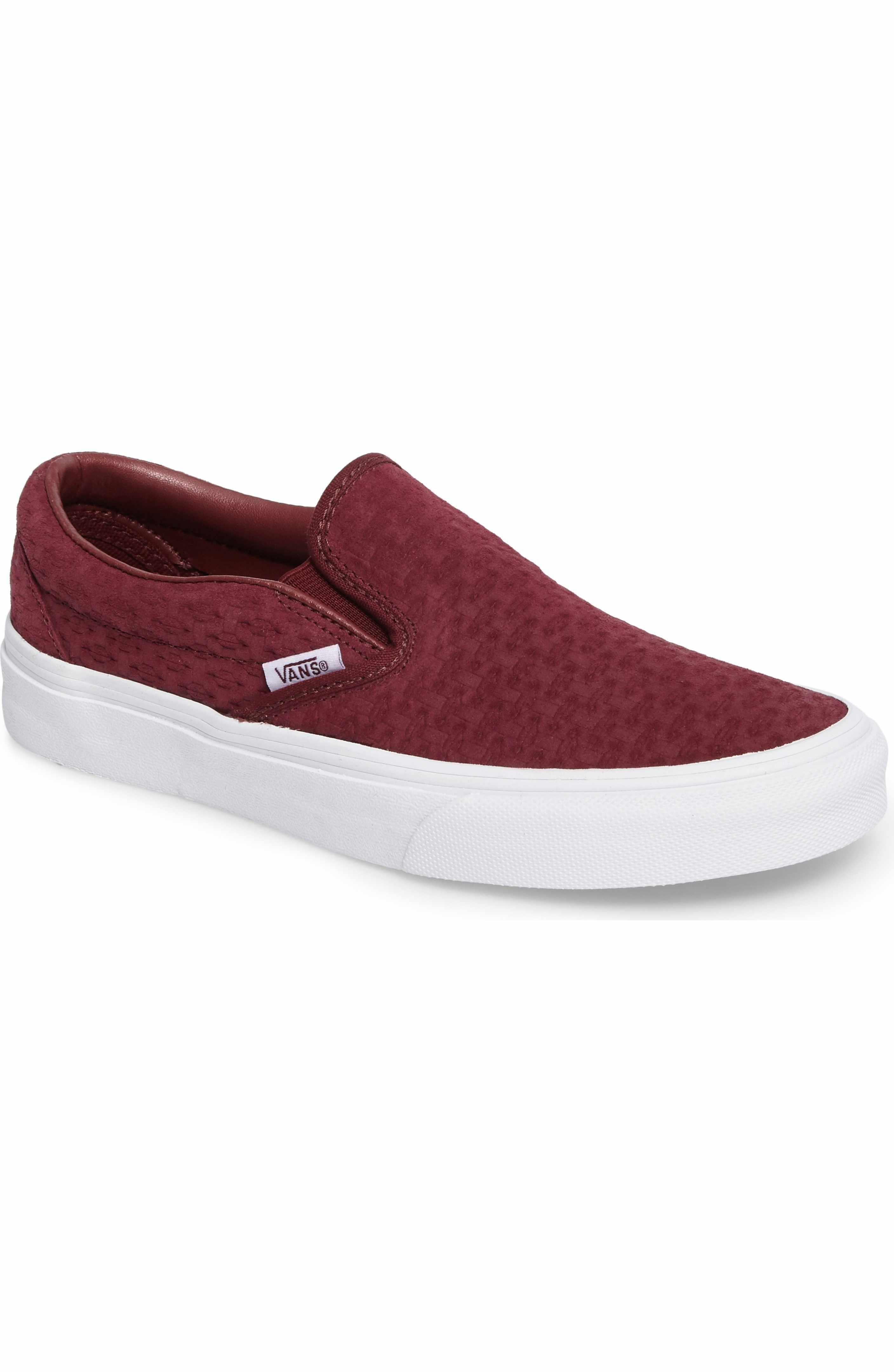 7fb79a7424 Classic Slip-On Sneaker. Sneakers WomenSlip On SneakersVans ShoesVans  Classic Slip OnClassic SneakersVans ClassicsShop VansBurgundyNordstrom