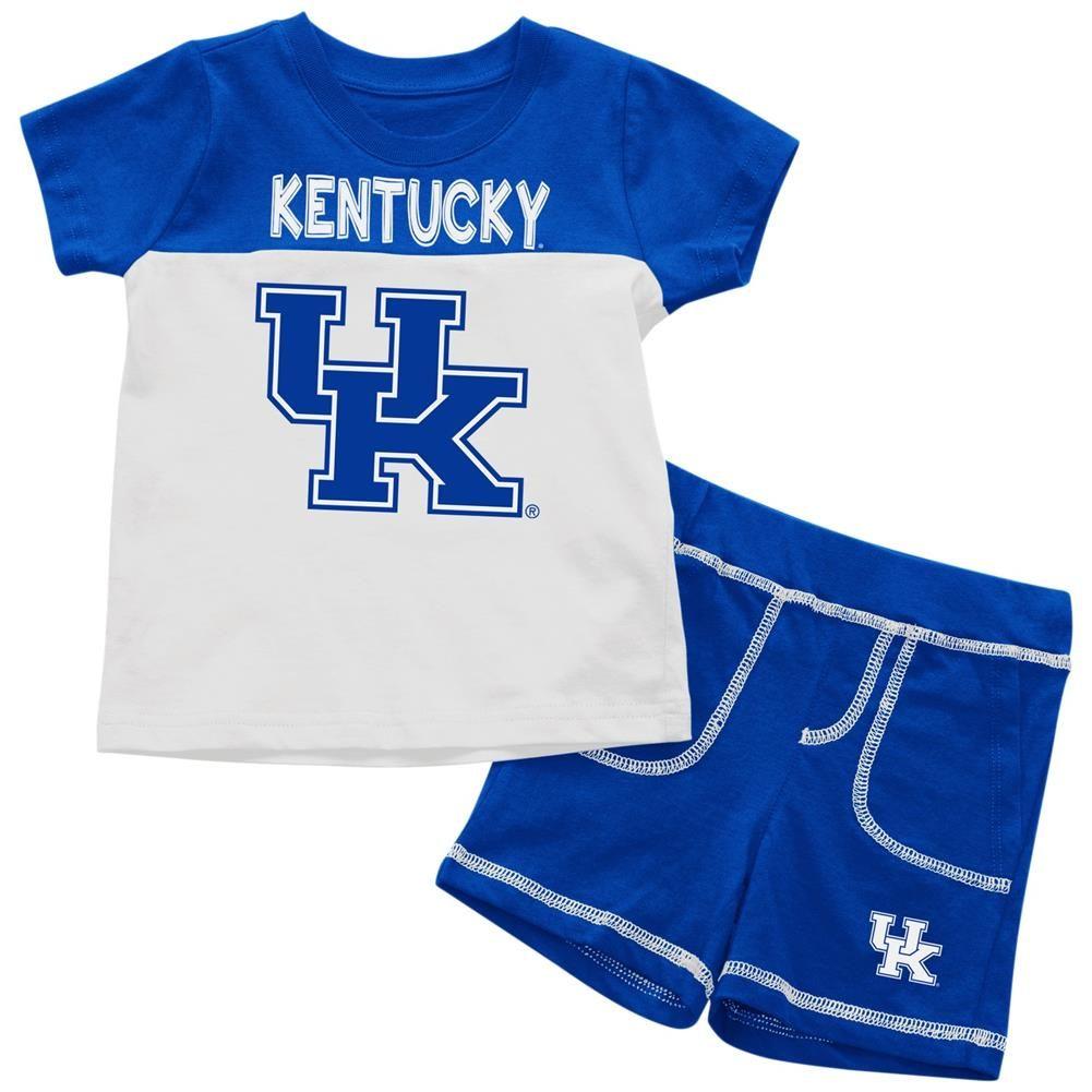 Kentucky Wildcats UK Infant T-Shirt and Shorts Boy's 2-Pc Set