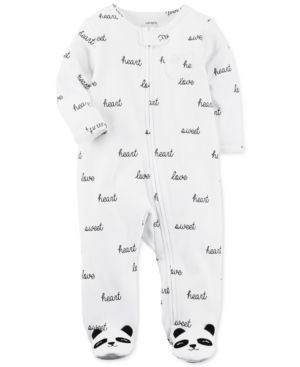 61dc9f17e Carter s Panda Footed Cotton Coverall