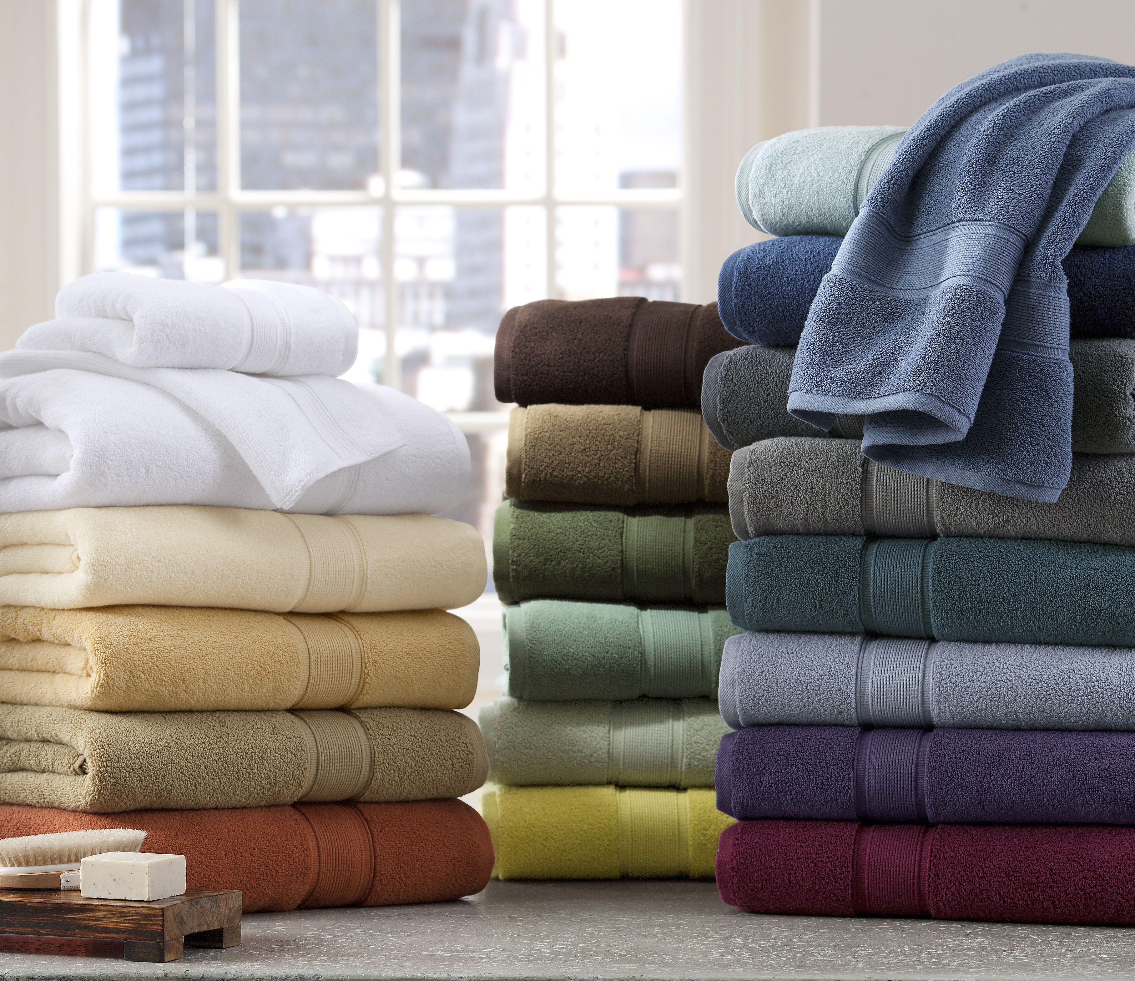 Microfiber Towels Bed Bath And Beyond: These Towels From The Kenneth Cole Reaction Home