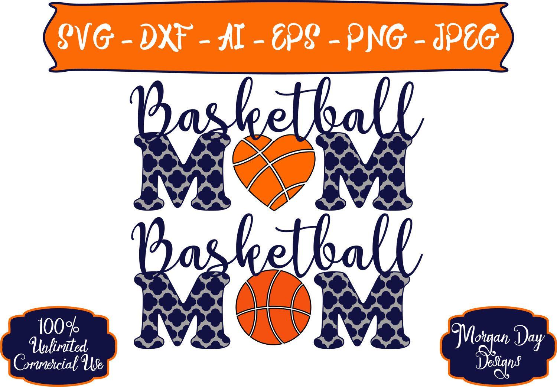 Basketball Mom SVG Personalized Basketball SVG