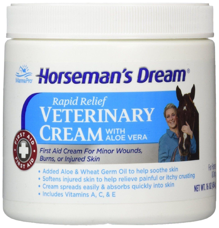 Horseman's Dream Rapid Relief Veterinary Cream with Aloe