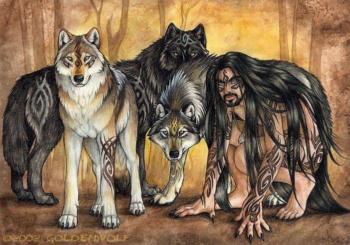 Fantasy Werewolf Art Furry Art Art