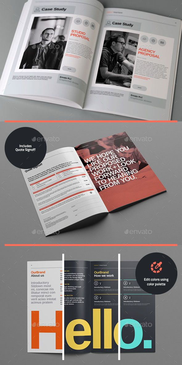 20 Proposal Templates For Web Design Project Editorial / Layout