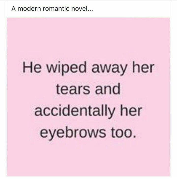 Modern romantic novel.
