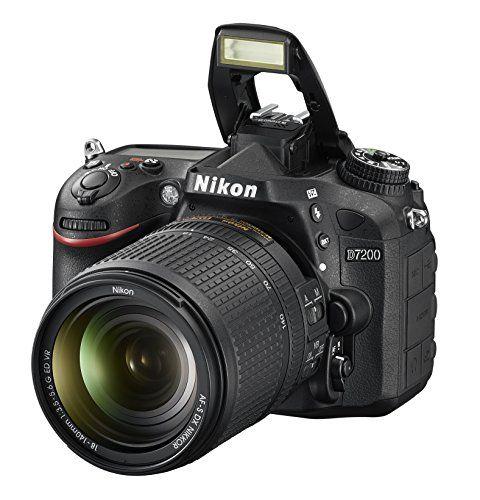 Nikon D7200 Dx Format Dslr W 18 140mm Vr Lens Black Nikon Digital Camera Camera Nikon Nikon D7200
