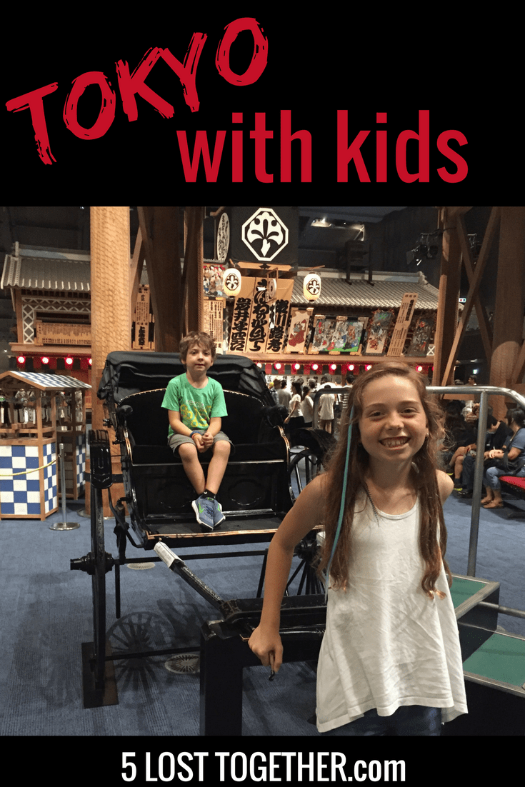 How to Spend 5 Days in Tokyo With Kids