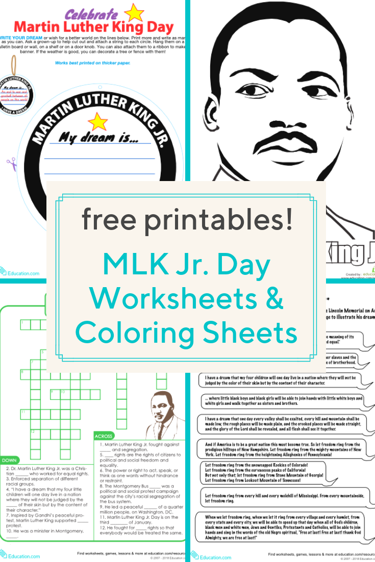 Download These Free Printables And Help Your Child Learn About Martin Martin Luther King Worksheets Martin Luther King Classroom Martin Luther King Activities [ 1102 x 735 Pixel ]