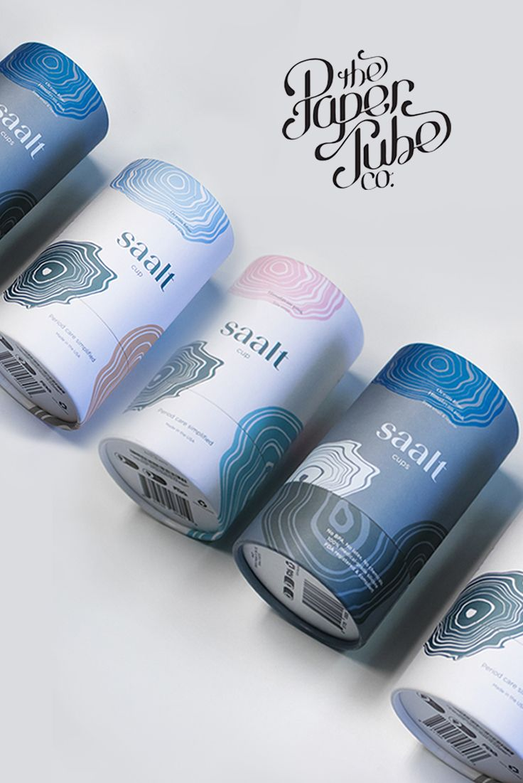 Saalt is a Refreshing Take on The Female Menstrual Cup is part of Saalt Is A Refreshing Take On The Female Menstrual Cup - Graphical House and Paper Tube Co  teamed up to create this refreshing design for Saalt , a menstrual cup aimed to create a highquality product for women  The design is feminine but not in an overthetop way, instead opting for a more neutral color scheme and delicate yet modern typography