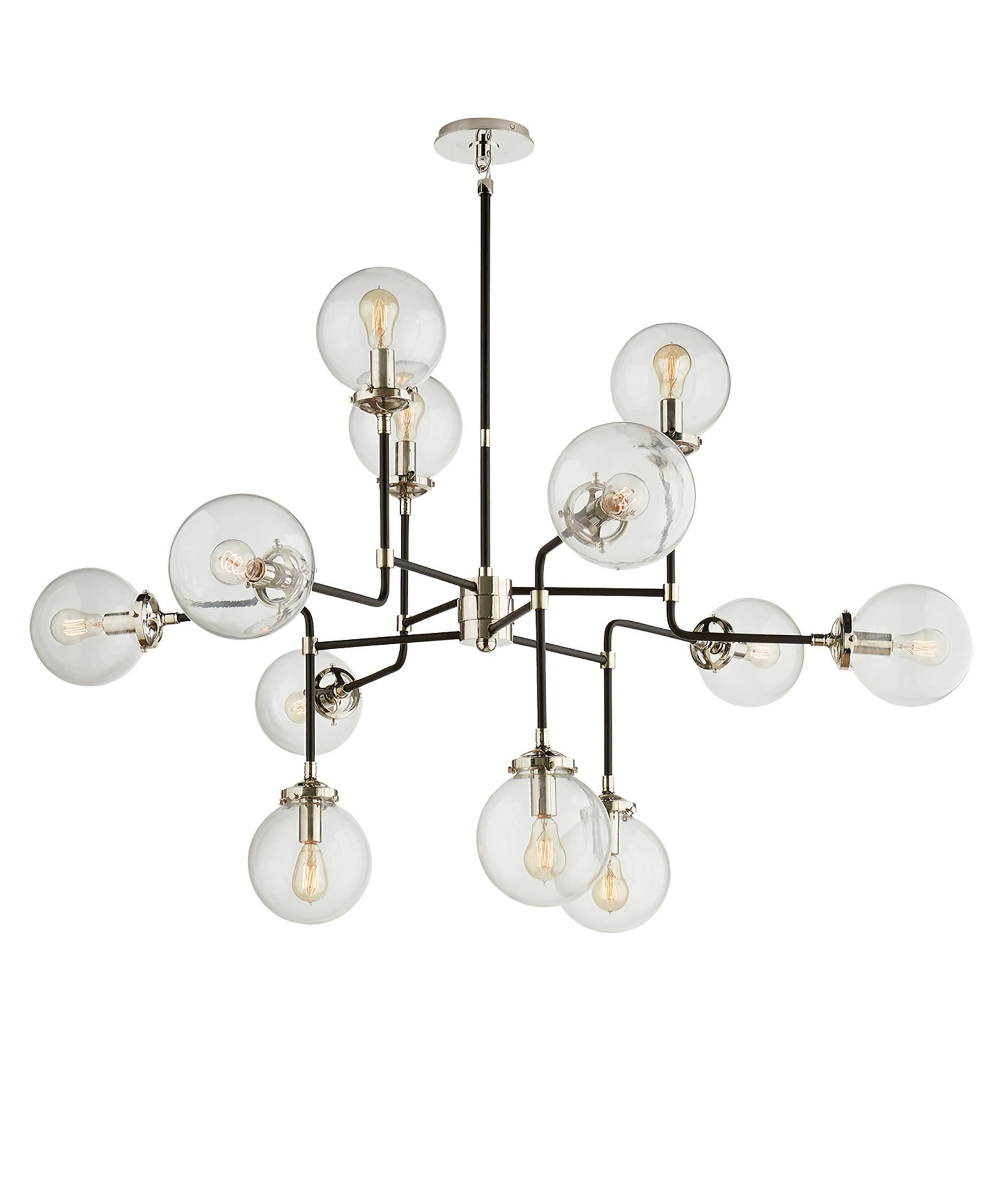Visual comfort s5022 bistro 47 inch chandelier great lighting visual comfort s5022 bistro 47 inch chandelier arubaitofo Image collections