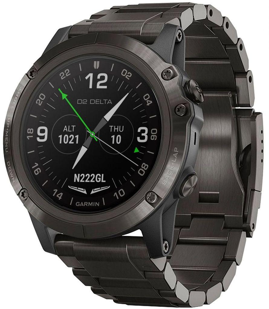 5b972f70526 Garmin Watch D2 Delta PX Aviator Watch DLC Titanium Band  add-content  alarm