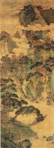 unknown title - Shen Zhou - - - Ming Dynasty (shan shui)