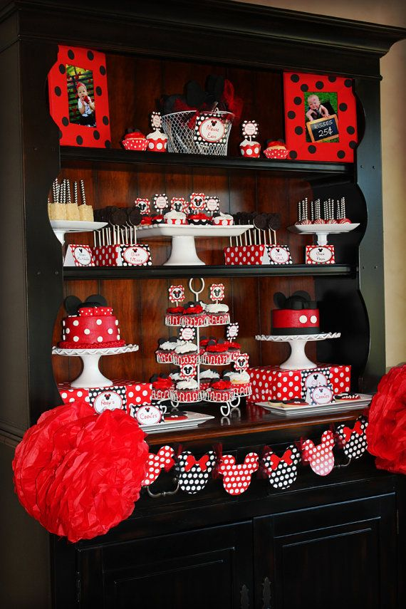 mickey minnie mouse party ideas