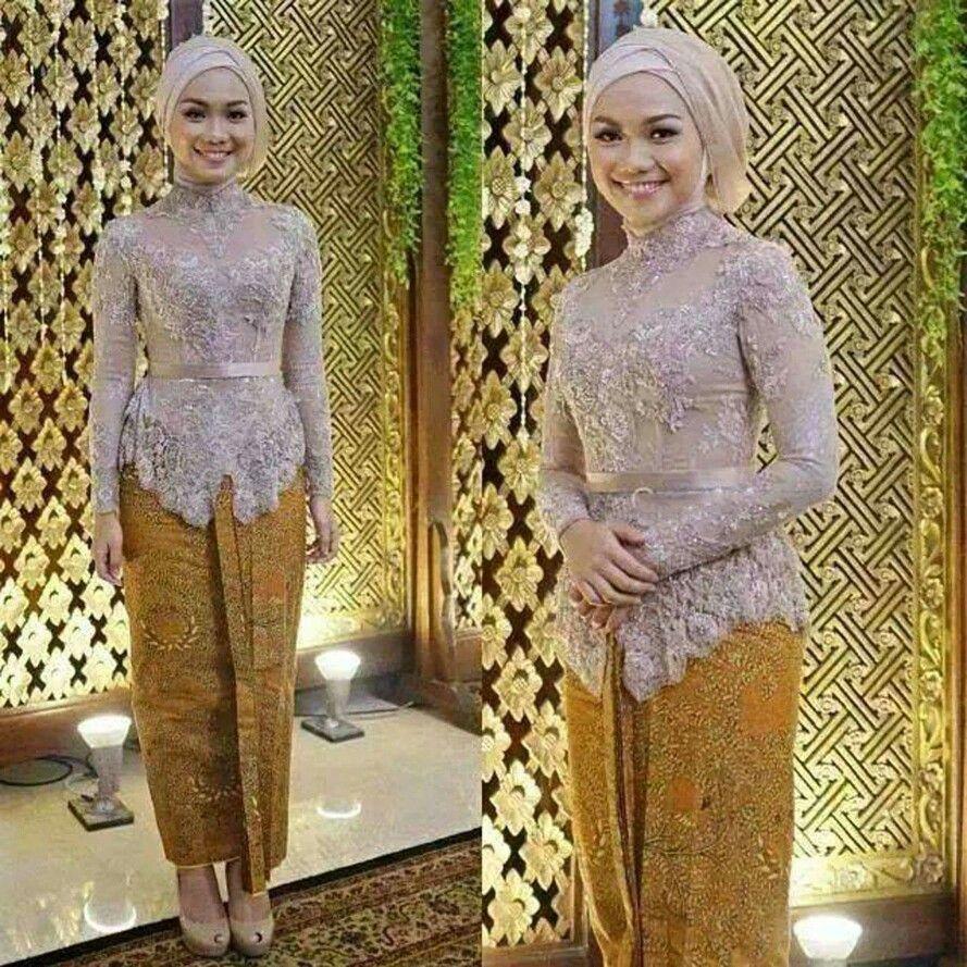 Model Jilbab Wedding Makeup Kebaya Kebaya Dress Kebaya Muslim