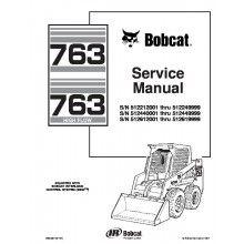 Bobcat 763, 763 High Flow Skid Steer Loaders Service