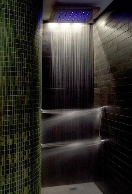 Pin Su Bathroom Shower Design