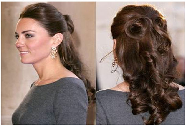 Surprising 1000 Images About Easy Half Up Half Down Hairstyles For Everyday Short Hairstyles Gunalazisus