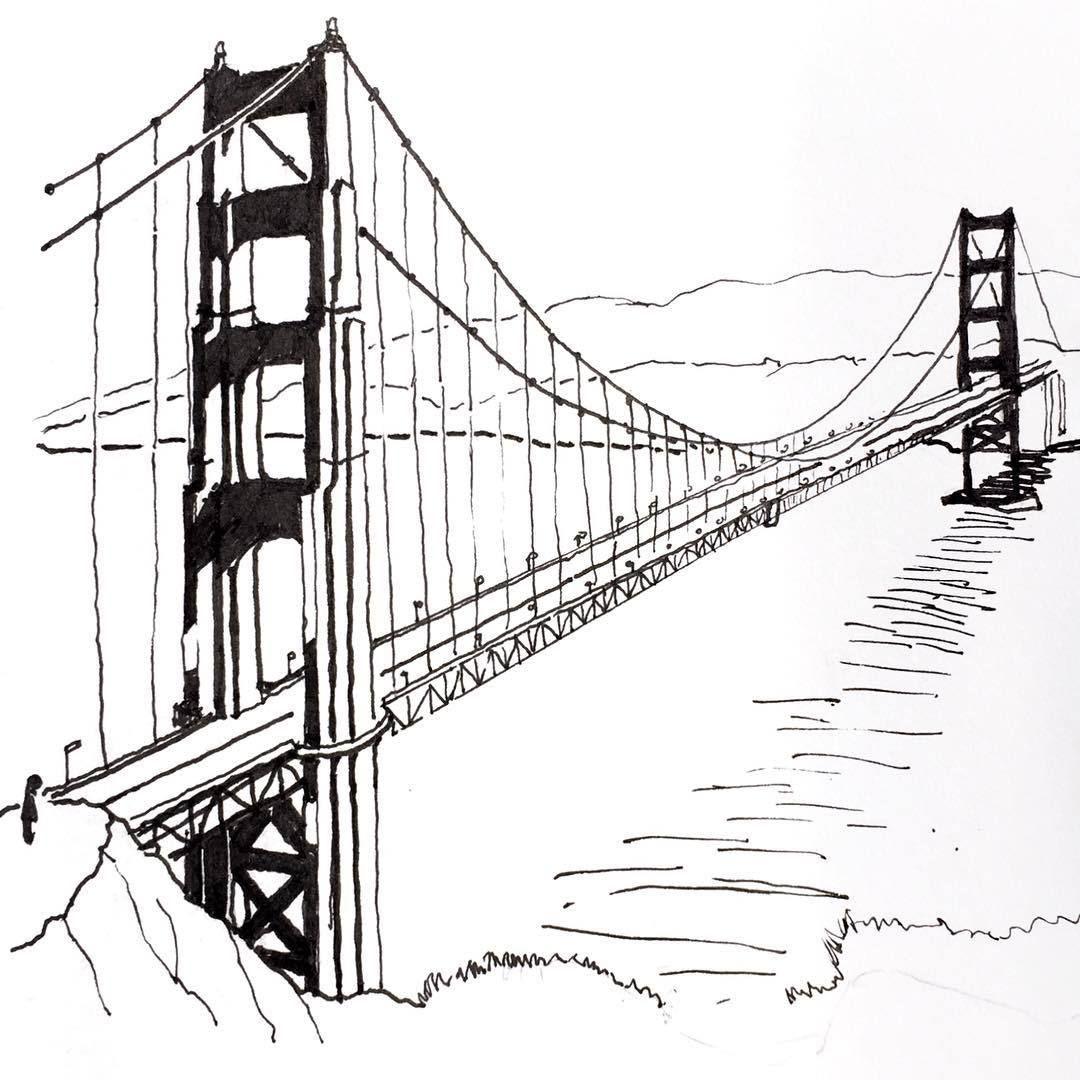 Рисунки картинок мостов