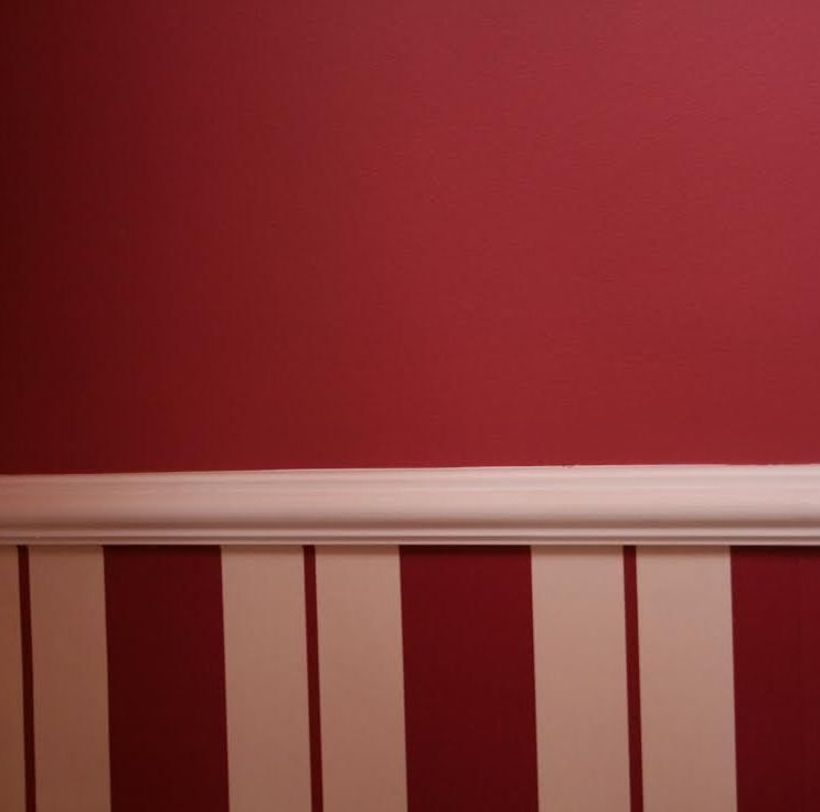 Pared sin gotel coqueta ikea pinterest paredes de - Decoraciones de paredes pintadas ...