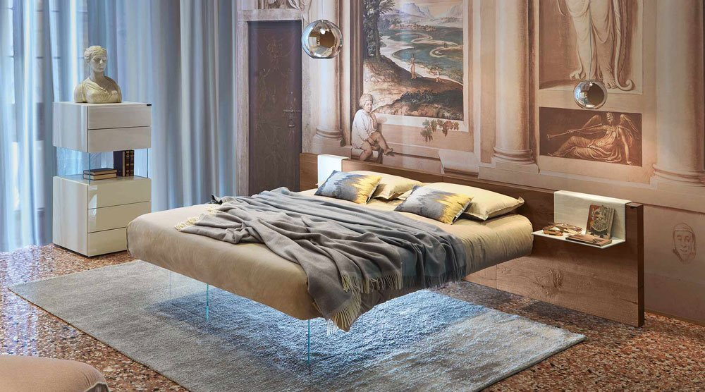Double Beds Bed Air Wildwood by Lago in 2020 Bed, Home