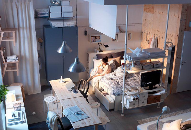 51 Most Beautiful Bedroom Decor Ideas Inspiration Small Apartment Bedrooms Ikea Bedroom Design Beautiful Bedroom Decor