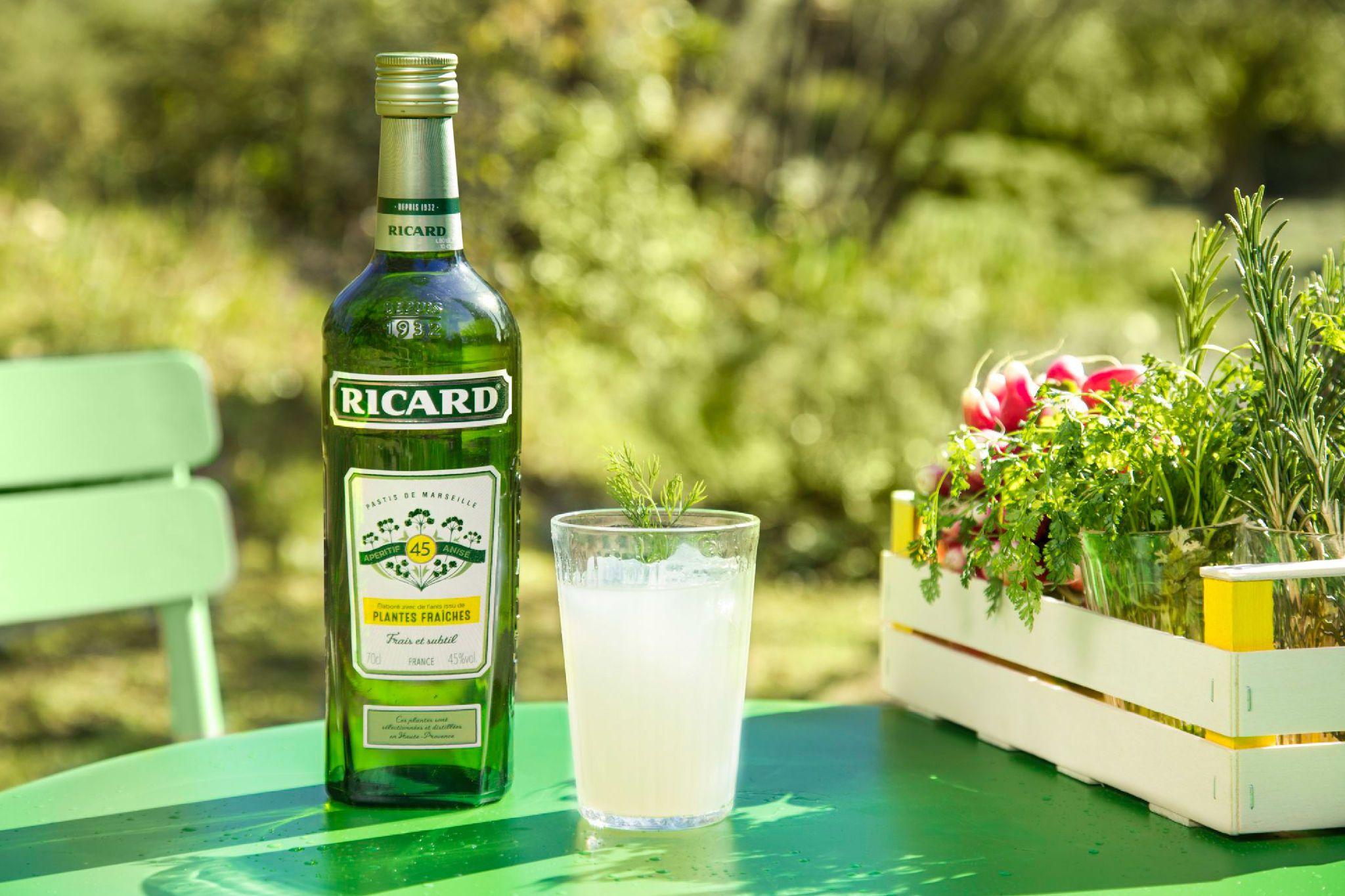 Ricard Plantes Fraiches Likeur Limoncello Gin