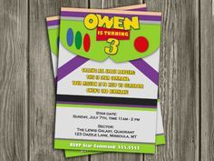 Toy Story Buzz Lightyear Party Invitations Google Search Buzz Lightyear Birthday Buzz Lightyear Birthday Party Buzz Lightyear Party