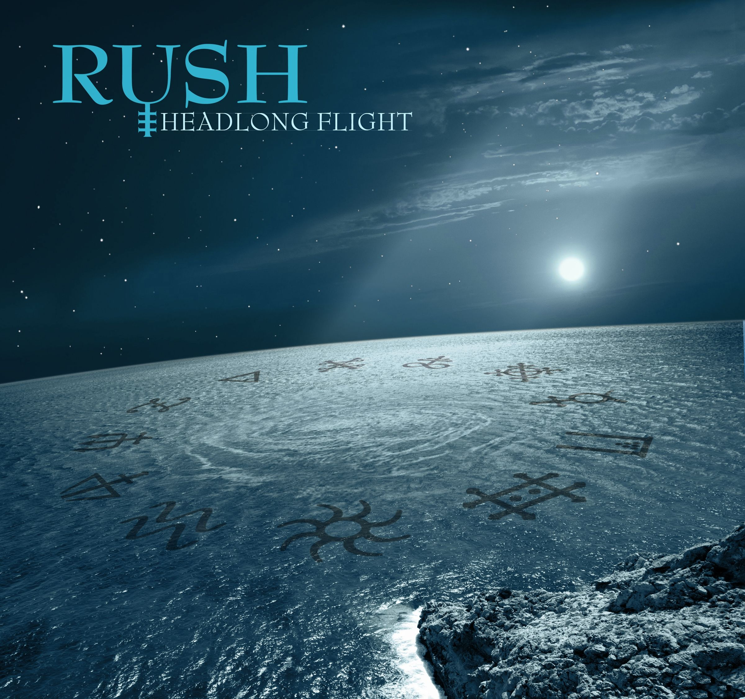 Artwork for Rush's Headlong Flight, from Clockwork Angels