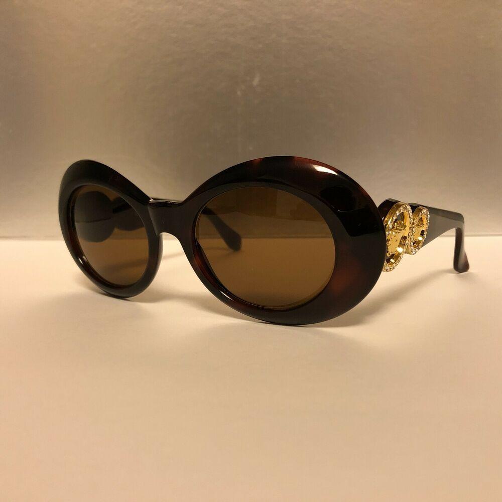 c2e3d4135b5c GIANNI VERSACE MOD 418 C Col 900 Vintage Sunglasses Great con! Super Rare!