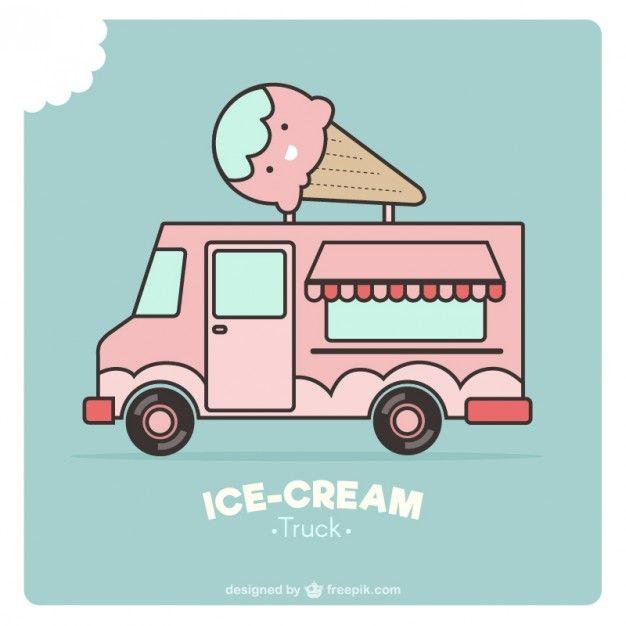 Ice Cream Food Truck Design Ice Cream Car Ice Cream Truck Ice Cream Van