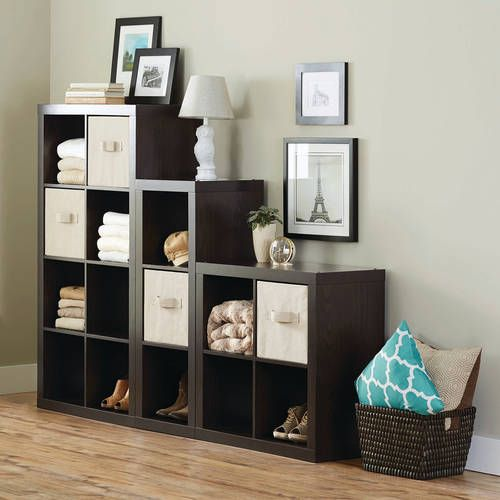Better Homes And Gardens 15 Cube Organizer Staggered Wall Unit