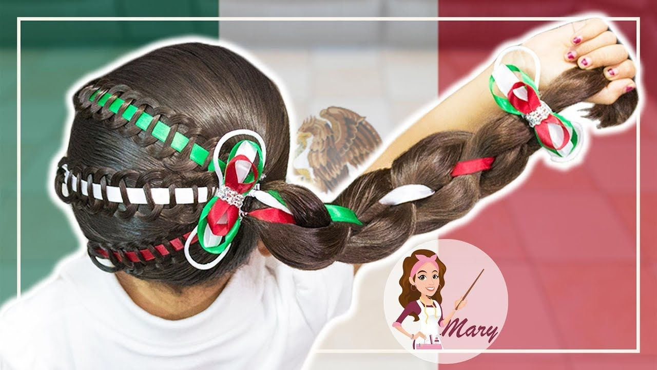 Peinados Mexicanos Para Las Fiestas Patrias Peinados Mexicanos Peinados Con Trenzas Para Ninas Trenzas De Ninas
