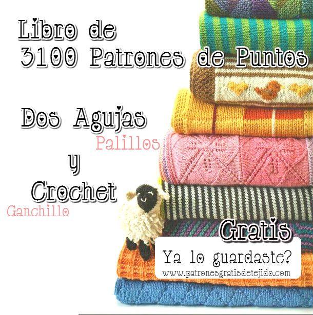 Descarga Gratis Libro De 3100 Patrones Tricot Y Ganchillo ... @tataya.com.mx
