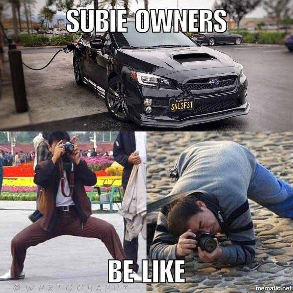 Subaru Meme Hippy - Year of Clean Water