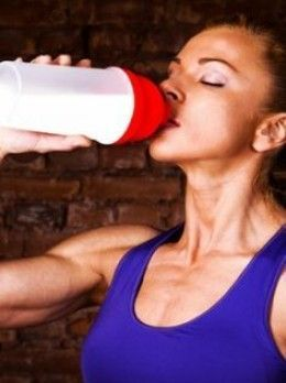 shake to gain muscle workout