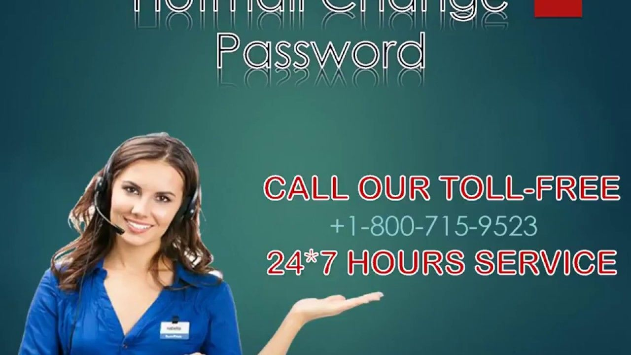 Hotmail Change Password +18007159523 Supportive
