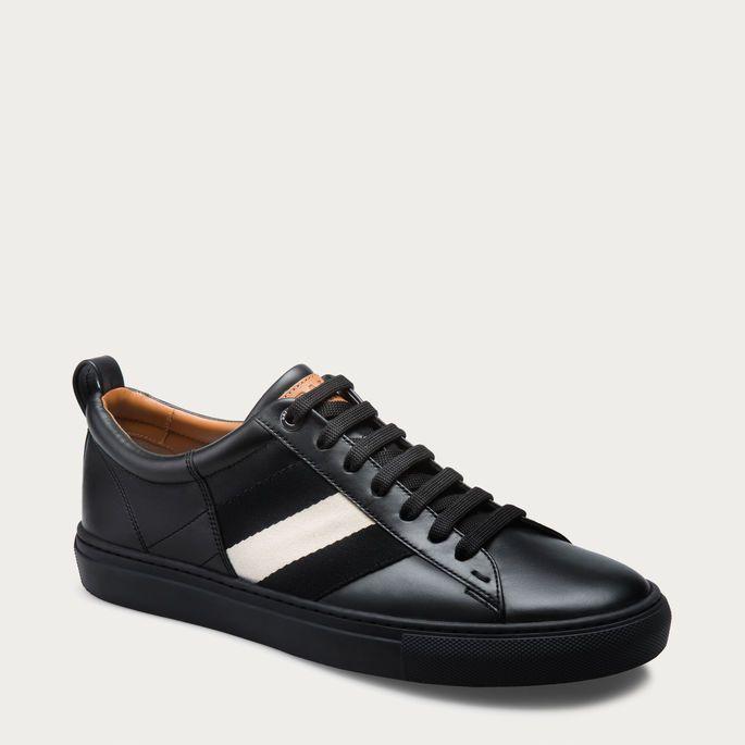 57fe328f Black CALF Sneakers - Bally   Sneakers in 2019   Sneakers, Mens ...