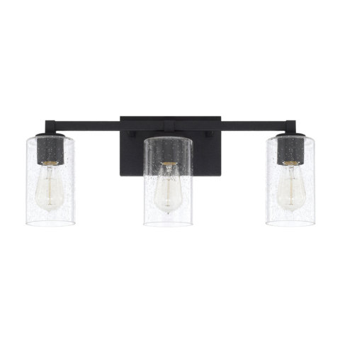 Ravenwood Vanity Black Bathroom Light