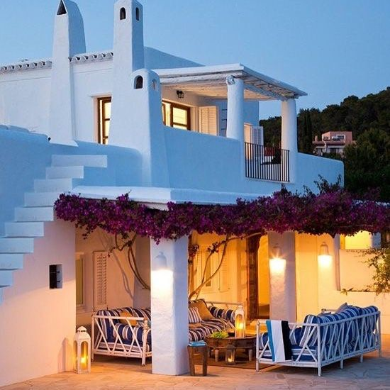 Stunning Mediterranean Style Home In Ibiza: Pin By 2cities1woman On Summer Hause