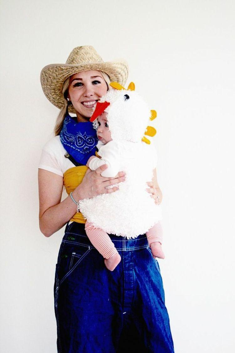 Mutter Kind Kostüm