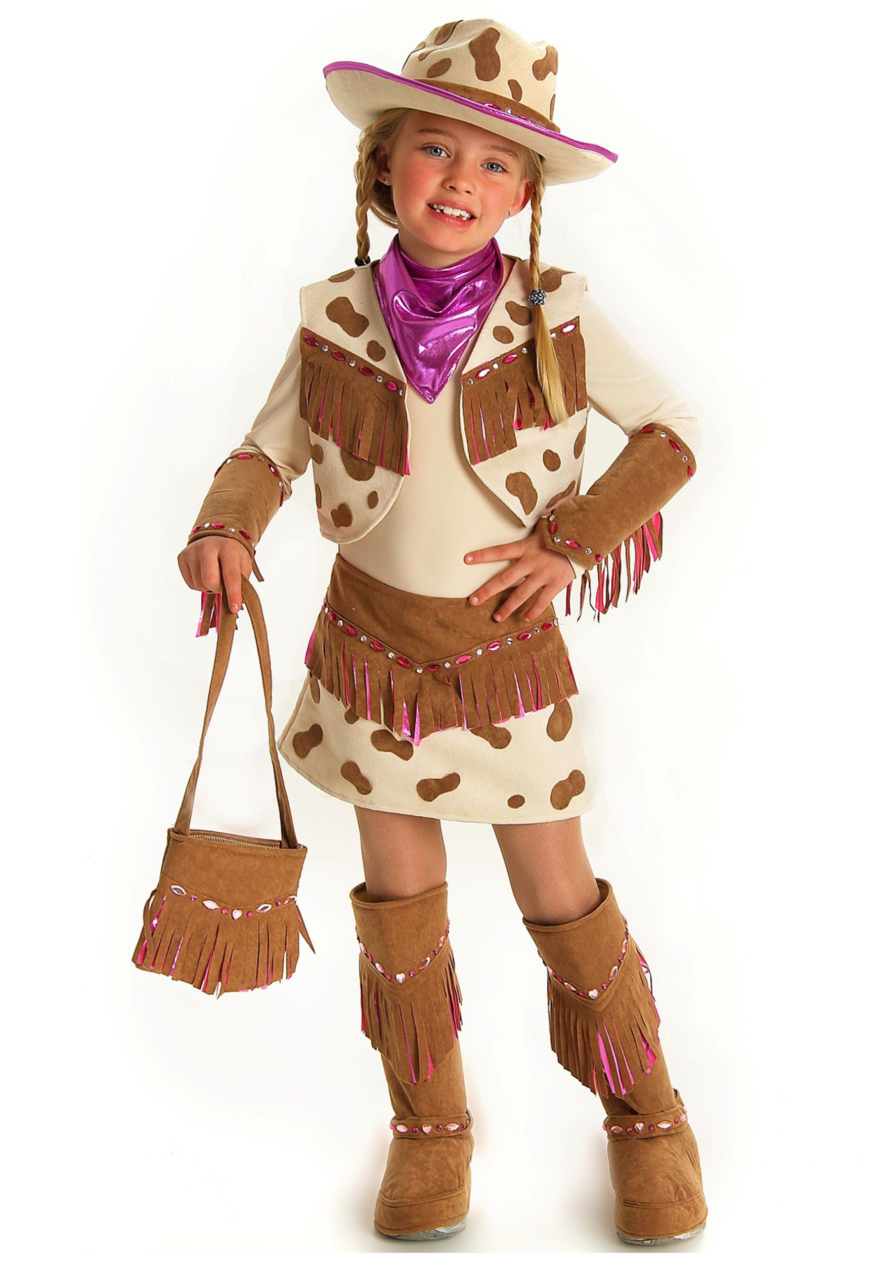 Hahaha Madeline picked this as her halloween costume. Doubtful... Girls Rhinestone Cowgirl Costume | Holidays | Pinterest | Cowgirl costume Costumes and ...  sc 1 st  Pinterest & Hahaha Madeline picked this as her halloween costume. Doubtful ...