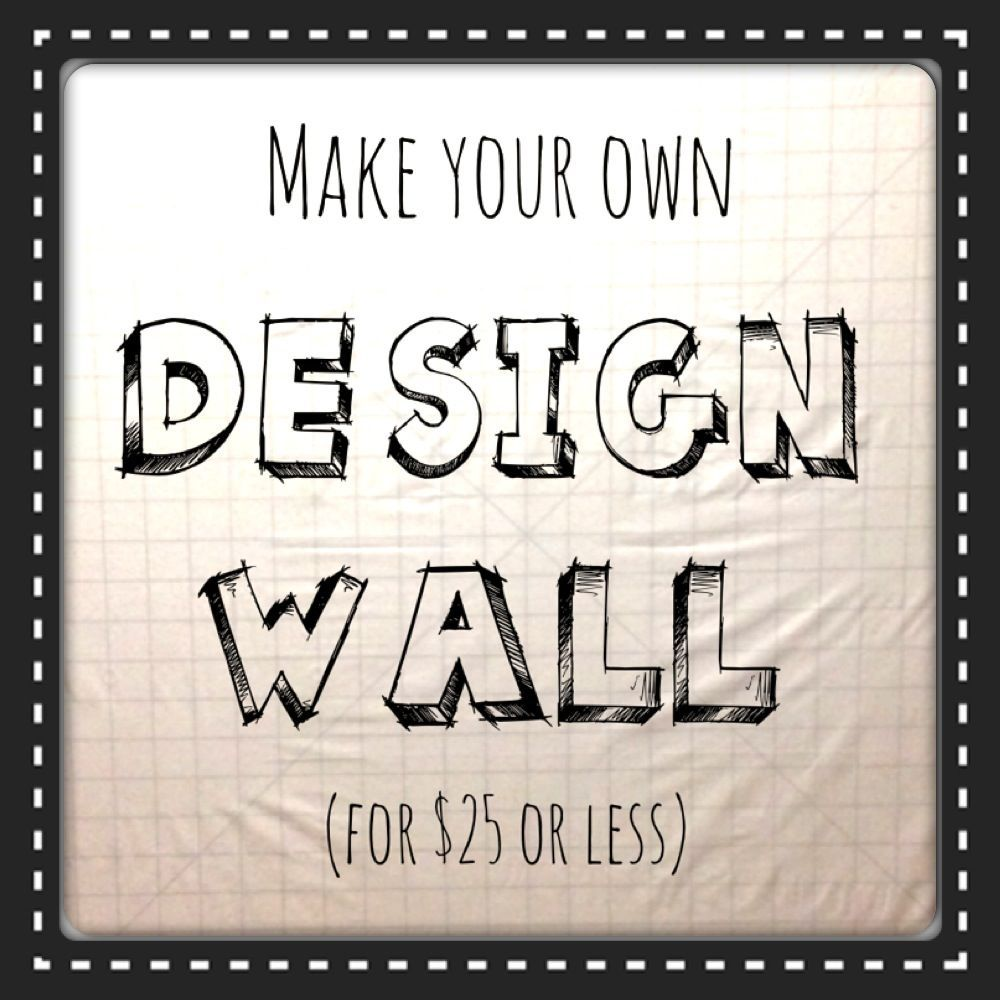 The Sassy Quilter: How to make your own Design Wall! (The Sassy ... : quilting design board - Adamdwight.com