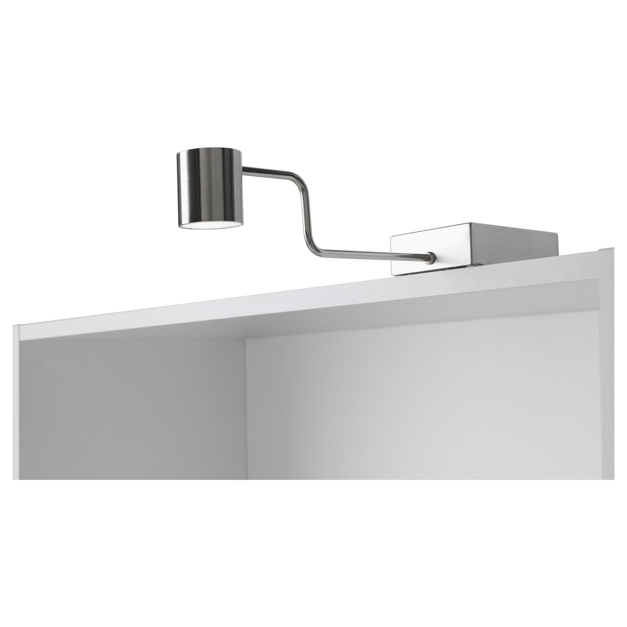 above the kitchen cabinets GRUNDTAL Cabinet lighting - stainless ...