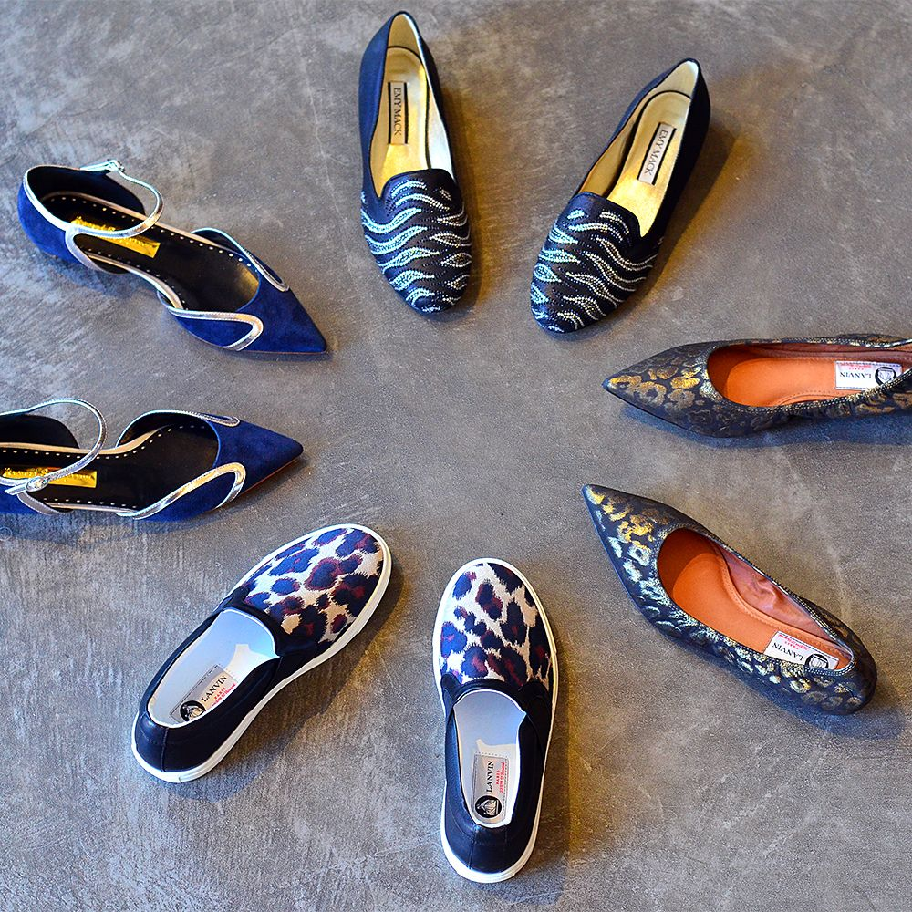 Find your perfect pair of holiday flats at Julianne Boutique.
