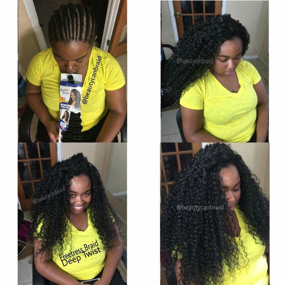 Deep Twist Braiding hair by Freetress