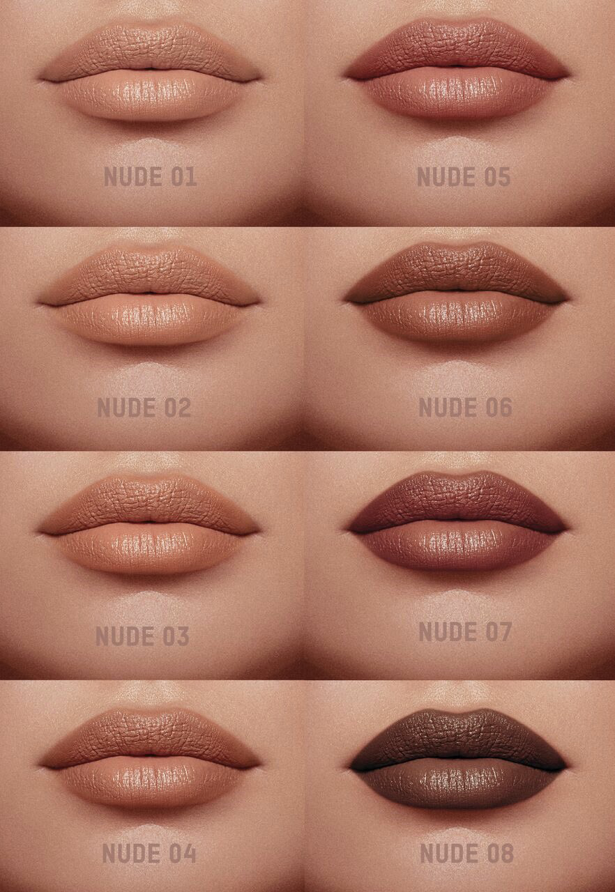 Kkw Beauty 8 Nude Lipsticks Kkwbeautycom  Makeup In 2019 -6728