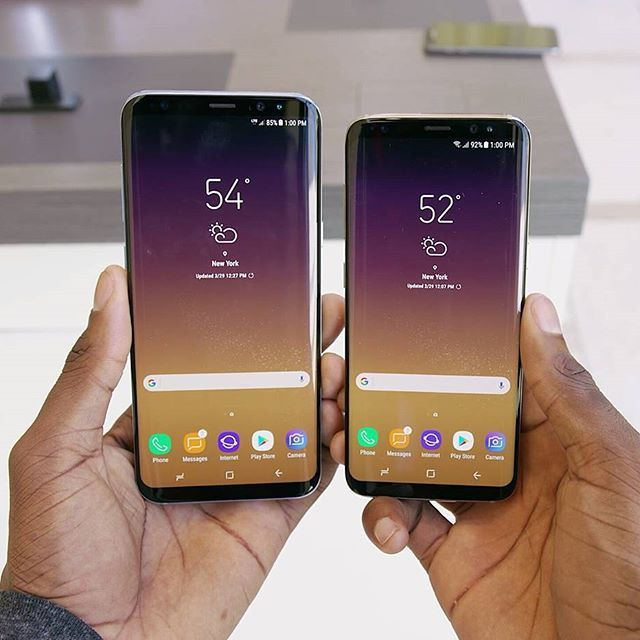Samsung Galaxy S8 & S8 Plus 🔥🔥 . . . . . . . . . . . .  Tags: #smartphone #phone #samsunggalaxy  #2017 #samsungblog_ #love #insta#likeforfollow #tweegram #photooftheday #amazing #followme #picoftheday #cute #me#instafollow #like4like #look #instalike #igers #like #girl #selfie #tbt #smile #style #happy #follow4follow